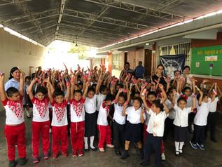 Da inició el programa piloto de cepillado diario en las escuelas públicas de Ciudad del Carmen Campe