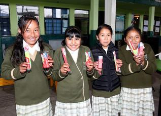 """Jornada de salud en la escuela primaria """"José Hinojosa Giles"""", realizada por el Voluntari"""