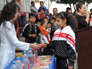 """Dio arranque el """"Programa de Cepillado Diario"""" en escuelas de Guadalupe, Zacatecas."""