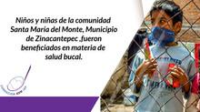 """1,728 PEQUEÑOS/AS BENEFICIADOS/AS EN LA COMUNIDAD DE """"SANTA MARÍA DEL MONTE"""" MUNICIPIO DE ZINACANTEP"""