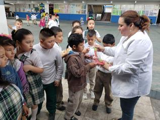 Escuelas publicas de Reynosa, Tamaulipas. Continúan con el Programa de Cepillado Diario.