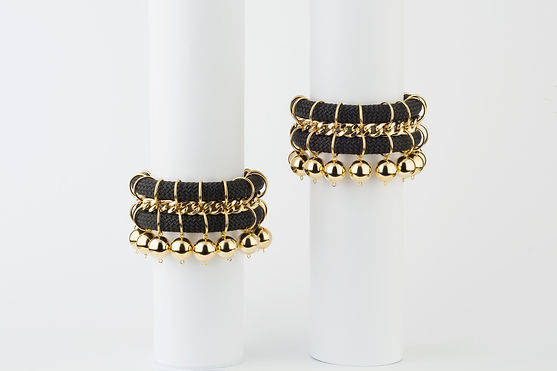 golden tribal bracelets, Yael Keila Sagi and Kobi Halperin collaboration