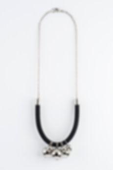 silver urban necklace, Yael Keila Sagi and Sketch collaboration