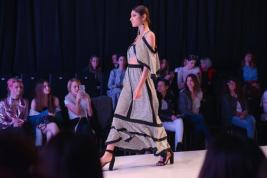 TLV Gindi Fashion Show, statement earrings