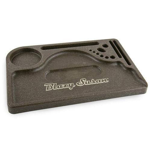 Blazy Susan Hemp Plastic Trays
