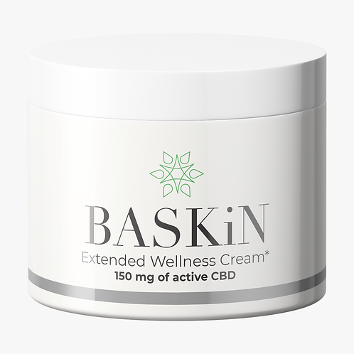 BASKiN Topical Cream 2oz - 150mg CBD - Case of 24