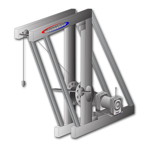 Electric winch for Bungee Jump