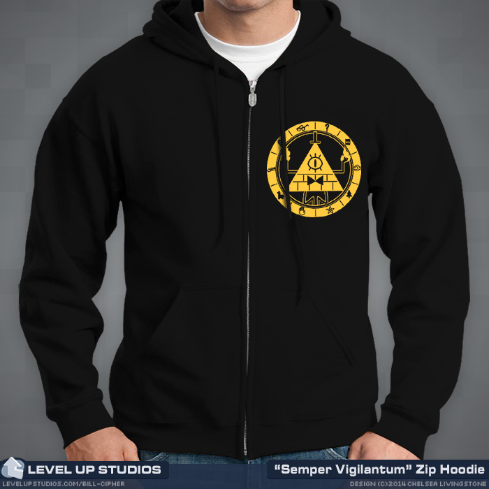 Bill Cipher Hoodie Front
