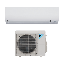 ductless system for heat and cool air