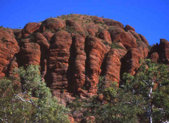 Rock Mountains Australia