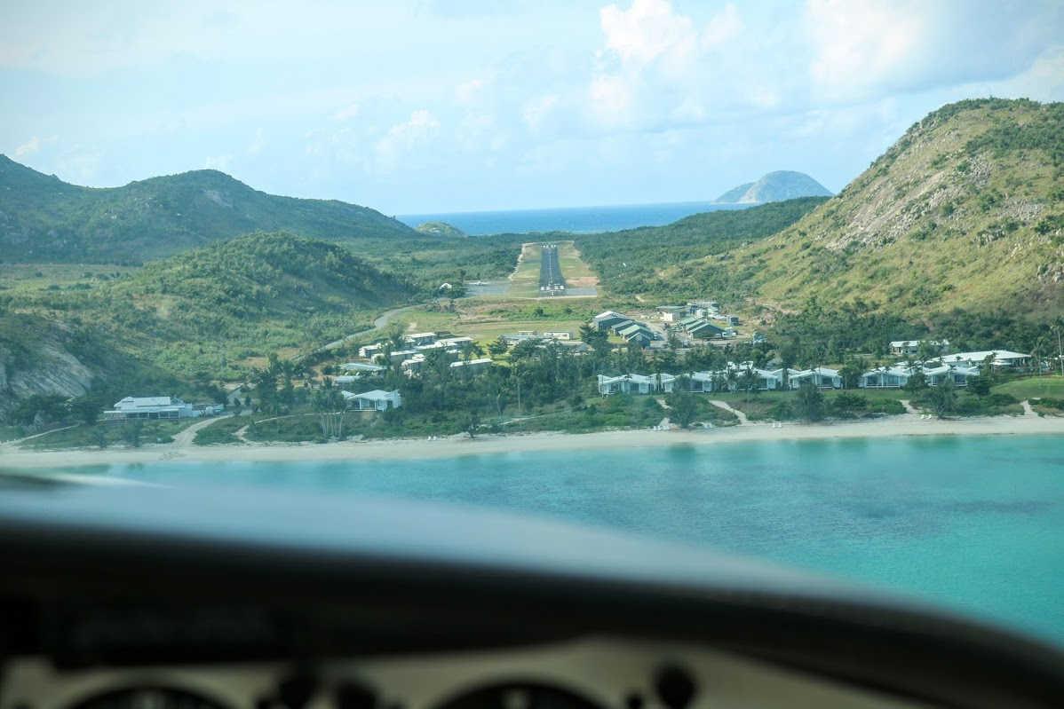 Landing Lizard Island