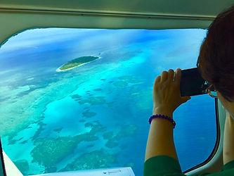 scenic flight view