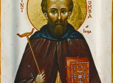 St. Columba Day, Our Home & Thin Places