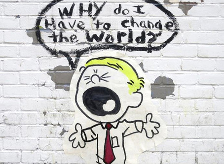 Why Do I Have to Change the World?