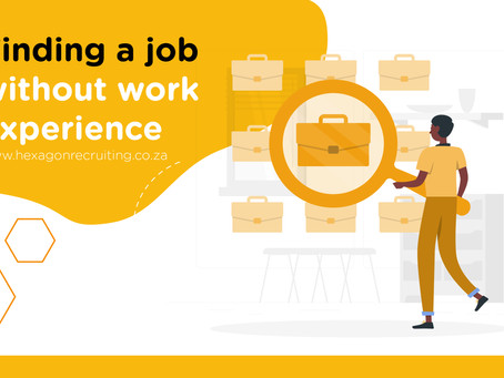Finding a Job Without Work Experience