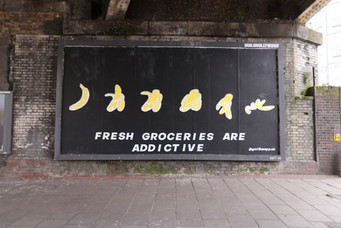 billboard for gorillas x house of experience