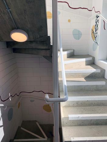 communal staircase for artform