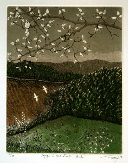 ギャラリー青城は、1975年から宮城県仙台市にて現代版画を営む画廊です。大垣禎造氏も紹介しております。
