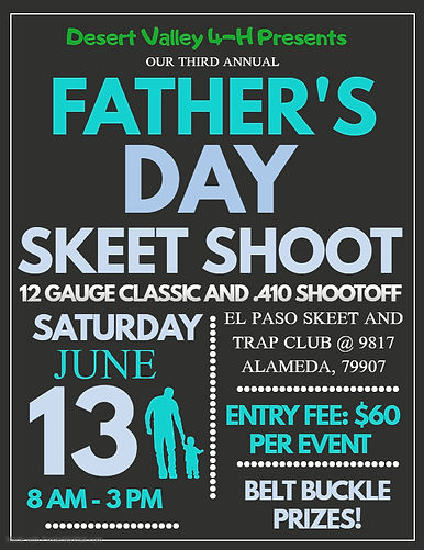 Fathers Day skeet shoot 2020 - Made with