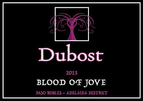 2013 Blood of Jove  .375 ml