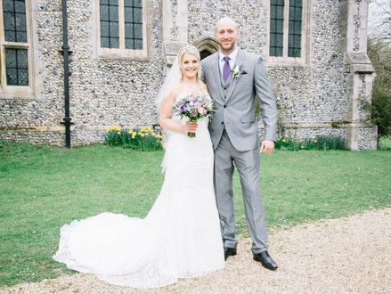 Wedding at Woodman Inn, Nuthampstead