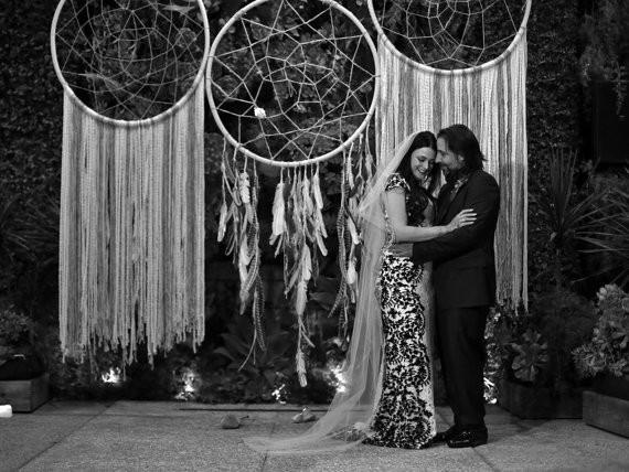 Giant Dreamcatcher Wedding Backdrop