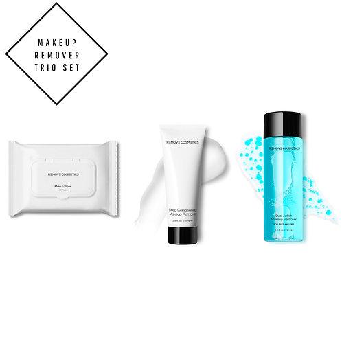 Makeup Remover Trio Set