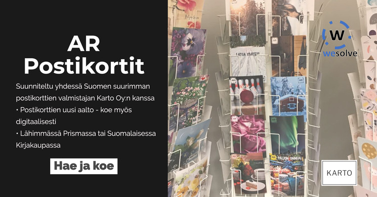 WeSolve Oy & AR Postcards