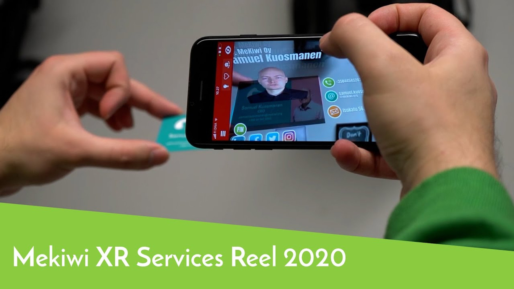 MeKiwi - XR Services Showreel 2020
