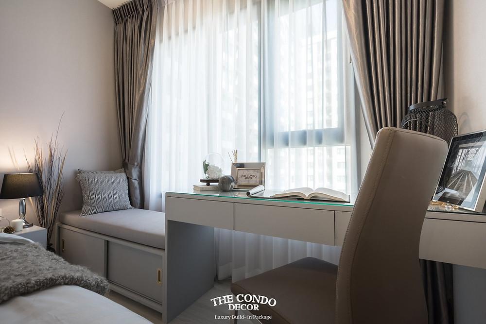 แพ็กเกจตกแต่งภายในคอนโด ตกแต่งภายในคอนโดหรู แต่งคอนโดสไตล์โรงแรม ตกแต่งคอนโดดีไซน์สวยหรู