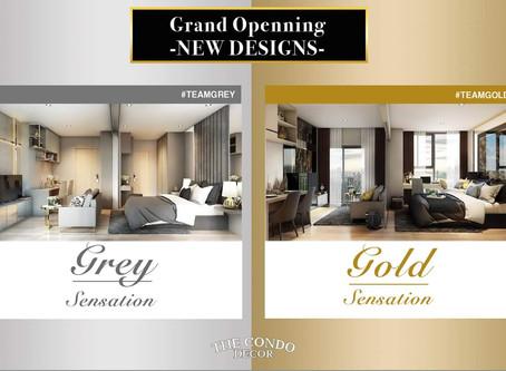 เปิดตัวดีไซน์ใหม่ GREY&GOLD Sensation