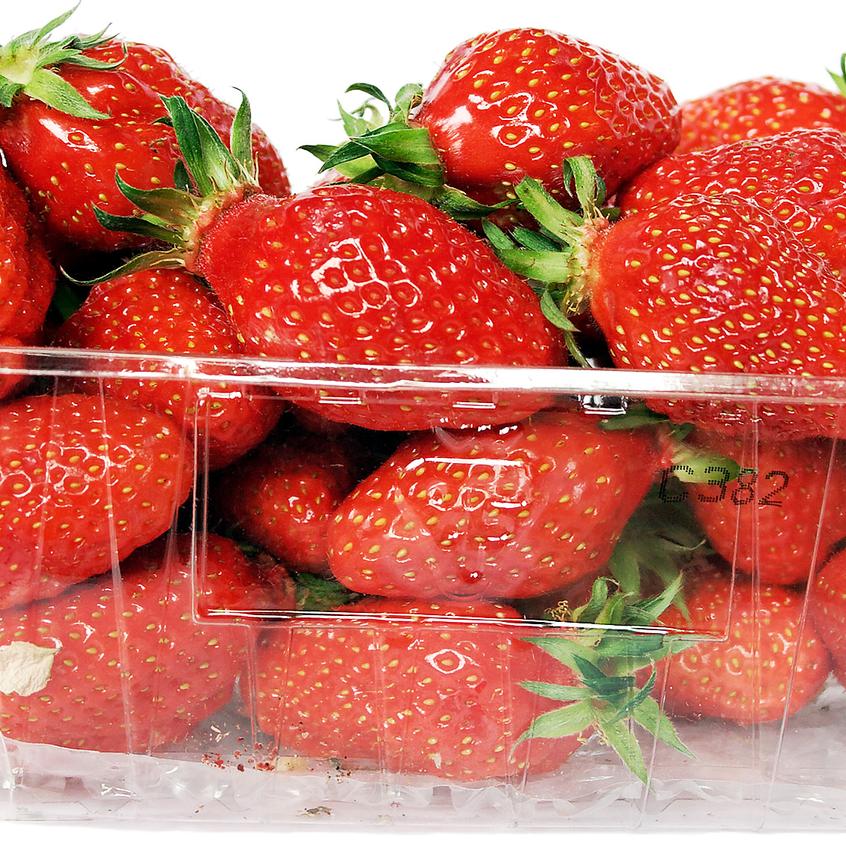 Strawberries Pound