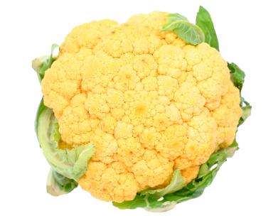 cauliflower - orange
