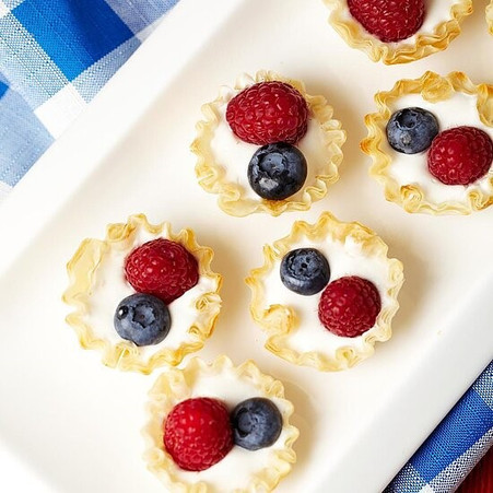 Red, White, & Blue Independence Day Recipes