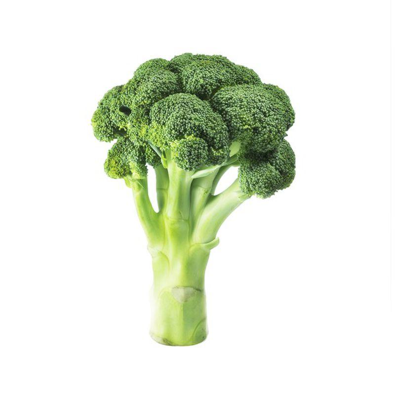 large broccoli with stem