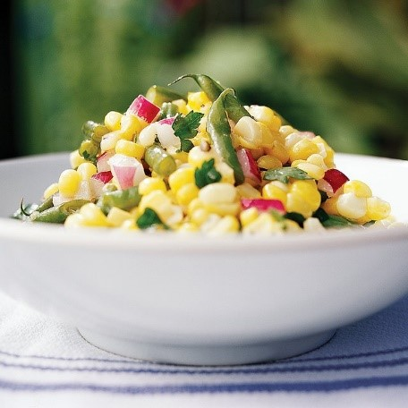 1  corn and beans