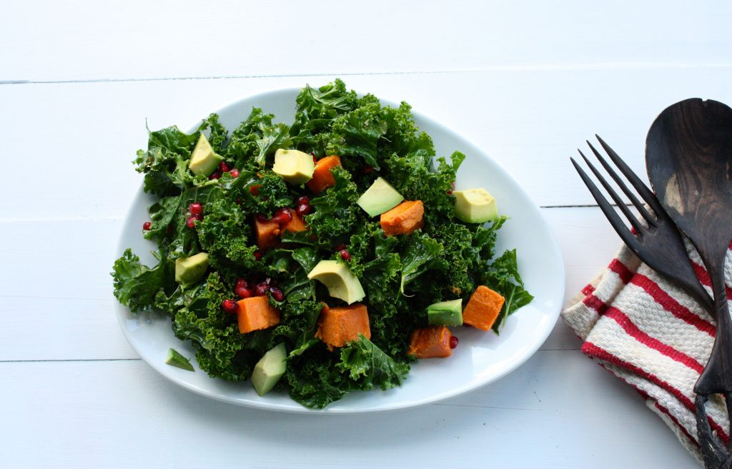 7 kale-sweet-potato-pom-salad