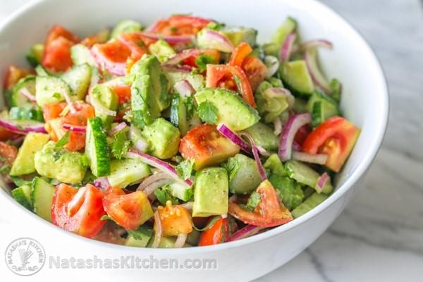 1    avocado salad