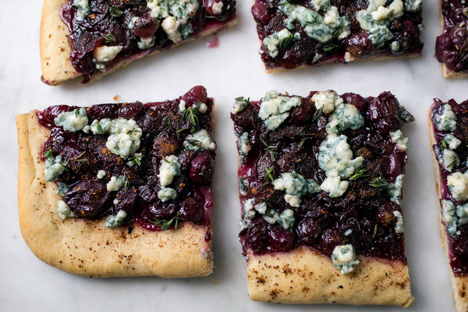 1  black grape and thyme bread
