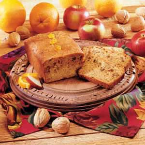 2 orange apple bread