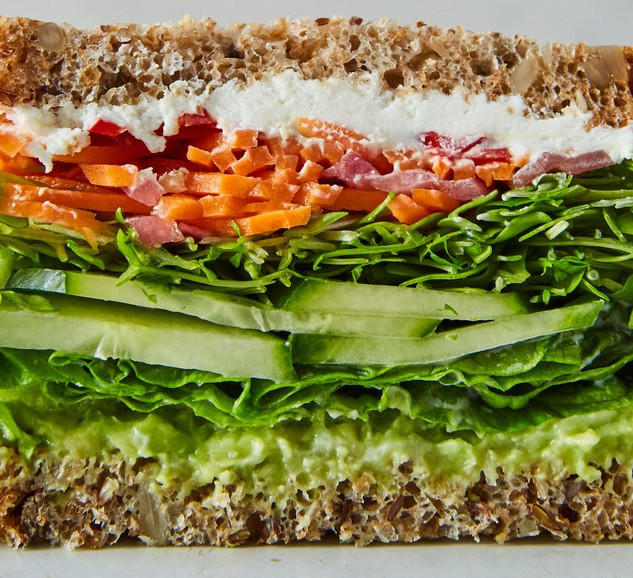 1.  california-veggie-sandwich