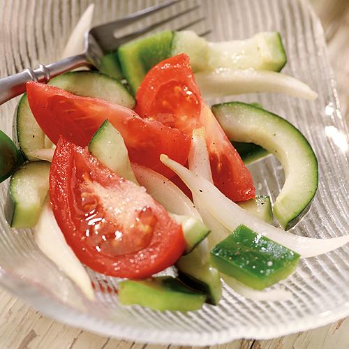 2 Tomato Cucmber & Pepper Salad
