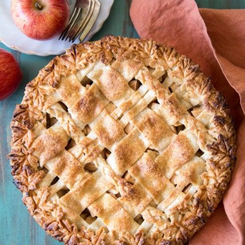 2 apple pear pie