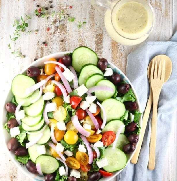 4  Greek-Salad-with-Roasted-Garlic-Salad