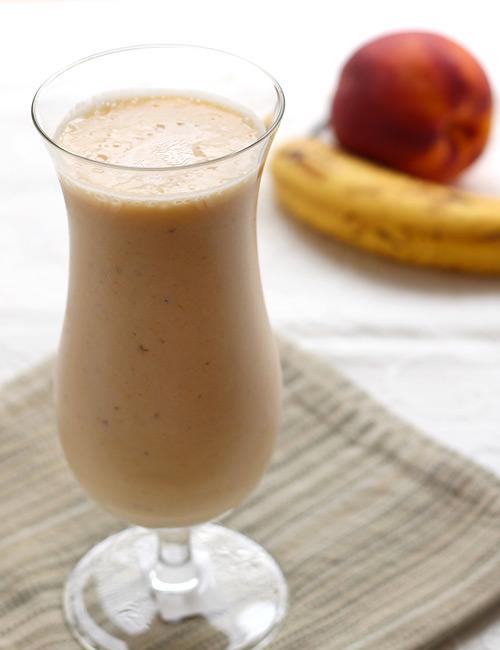 1  banana-peach-smoothie