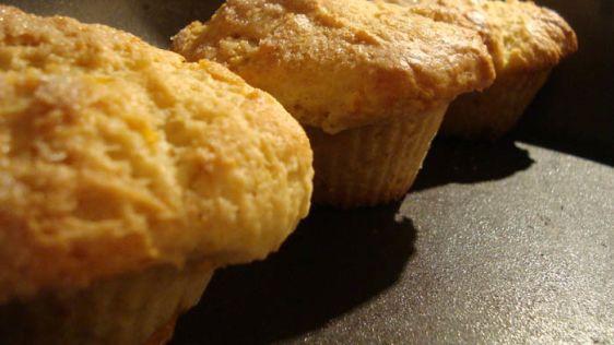 3 Peach Necftarine Muffins