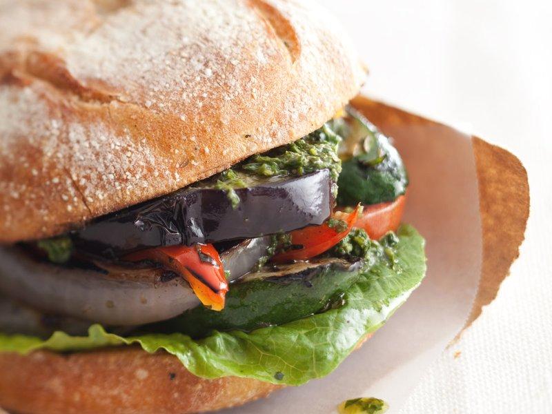 01  Grilled Veg Sandwich