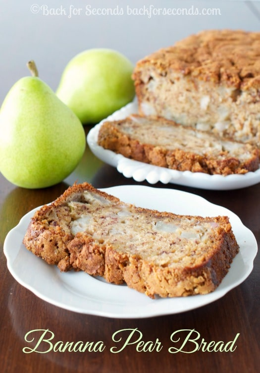 Banana-Pear-Bread-with-a-crunchy-Brown-S