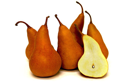 pears golden bosc