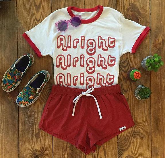Retro 70s Alright Festival Tshirt